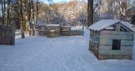 """Игровая площадка """"Форт"""" домики для укрытия"""