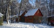 Уютные домики (вместимость до 15 человек)